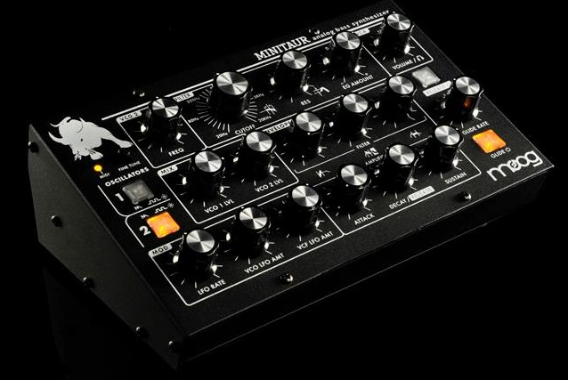 Moog Minitaur Analog Bass Synthesizer Front