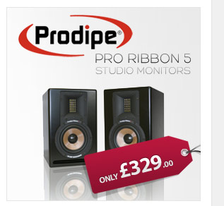 Prodipe Pro Ribbon 5 Monitors are great reference monitors with a very natural, clear and focused sound, ideal for use at home or in a studio.