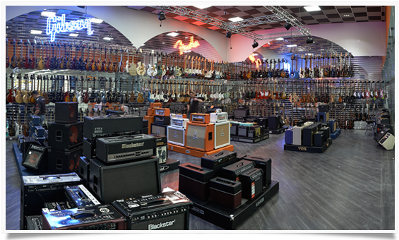Gear4music Showroom Information