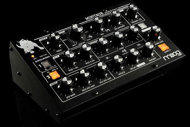 Moog Minitaur Analog Bass Synthesizer Front