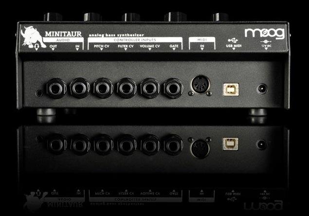 Moog Minitaur Analog Bass Synthesizer Rear